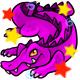Enchanted Magenta Crikey Plushie
