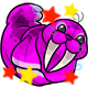 Enchanted Magenta Flab Plushie