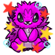 Enchanted Magenta Mordo Plushie