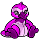 Magenta Newth Plushie