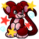 Enchanted Maroon Murfin Plushie