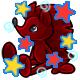 Enchanted Maroon Rofling Plushie