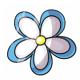 Mini Fairy Flower Stamp