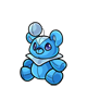 Minipet Azul Plushie