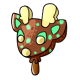Mint Chocolate Ice Cream Vixen Lolly
