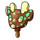Mint Chocolate Ice Cream Vixen Lolly