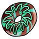 Mint Chocolate Donut