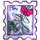 Mistletoe Stamp
