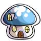 Mushroom House Stamp