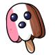 Neapolitan Ghost Ice Cream Lolly