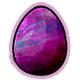 Galaxy Glowing Egg