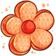 Orange Flower Pinata