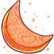 Orange Moon Pinata