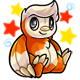 Enchanted Orange Astro Plushie