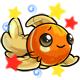 Enchanted Orange Equilor Plushie