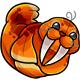 Orange Flab Plushie