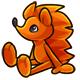 Orange Rofling Plushie