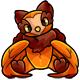 Orange Walee Plushie