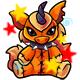 Enchanted Orange Yuni Plushie