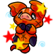 Enchanted Orange Zoink Plushie