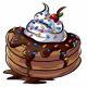 Chocolate Ice Cream Pancakes