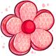 Pink Flower Pinata