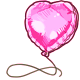 Pink Foil Balloon