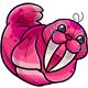 Pink Flab Plushie