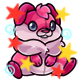 Enchanted Pink Kujo Plushie