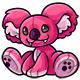 Pink Reese Plushie