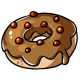 Pumpkin Spice Maple Doughnut