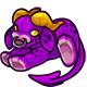 Purple Daisy Plushie