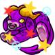 Enchanted Purple Daisy Plushie