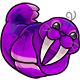 Purple Flab Plushie