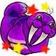 Enchanted Purple Flab Plushie