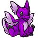 Purple Lorius Plushie
