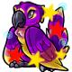 Enchanted Purple Pucu Plushie