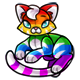Rainbow Chibs Plushie