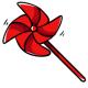 Plastic Pinwheel