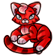 Red Chibs Plushie