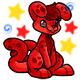 Enchanted Red Doyle Plushie