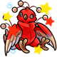 Enchanted Red Osafo Plushie