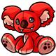Red Reese Plushie