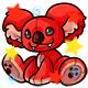 Enchanted Red Reese Plushie