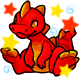 Enchanted Red Zetlian Plushie