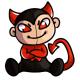 Retro Beelzebub Plushie