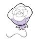 White Rose Balloon