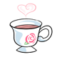 Rosewater Tea