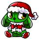 Seasonal Tinsel Plushie