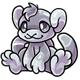 Silver Addow Plushie